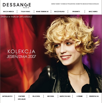 Projects migomedia interactive agency from poland for Salon jacques dessange